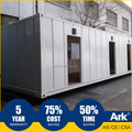 Ark Top Quality Good Price Long Lifespan Flatpack Prefabricated SteelTrain stations