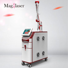 FDA/Medical CE approved Korea imported 7 joints light electronics q switch nd yag laser tattoo removal machine