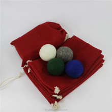 Color wool dryer ball