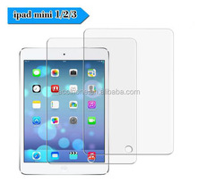Screen Protector for iPad mini 1 2 3 HD Clear 9H Hardness [Tempered Glass] for iPad Mini1/ Mini2/ Mini3