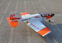Skysun Fire Bird Jet Trainer orange