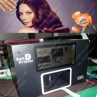New Girl Flower Fashion Shop Digital art pro nail printer with computer