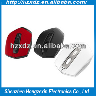 Ultra-thin 2.4 G wireless mouse Red mouse