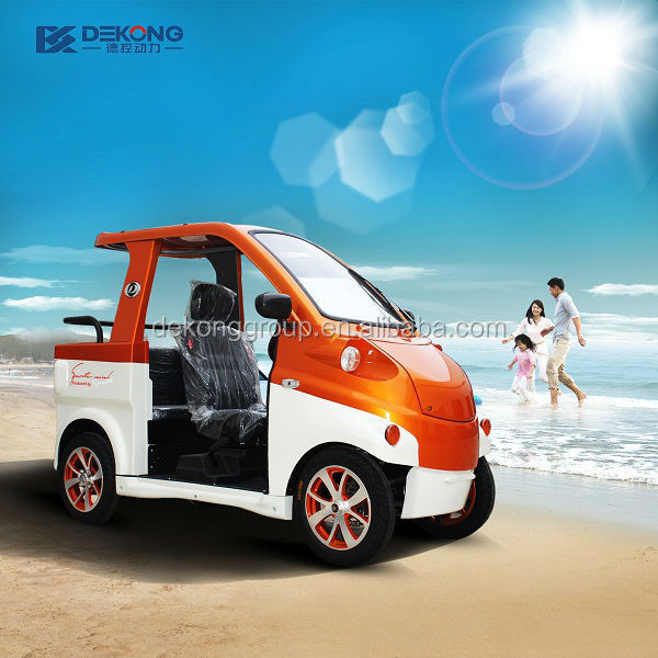 M low speed and confortable electric car for disable persons