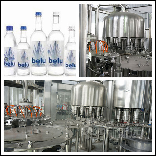 brand new mineral water bottle production line