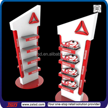 TSD-M249 Custom retail pos floor display equipment and furniture for shoe store,props display shelving for shoes
