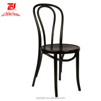 French Antique solid chair hot sale hotel chair wooden thonet dining chair