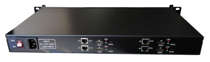 Iptv streaming encoder H.265 H264
