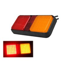 2.5w red &amber color Trailer Lamp Turn Truck Tail Lights Turn Signal Rear Combination Lamp Led