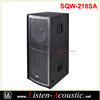 Super Bass Dual 18 inch Subwoofer Speaker SQW-218SA