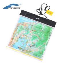 Clear PVC Waterproof Map Pouch Dry Bag