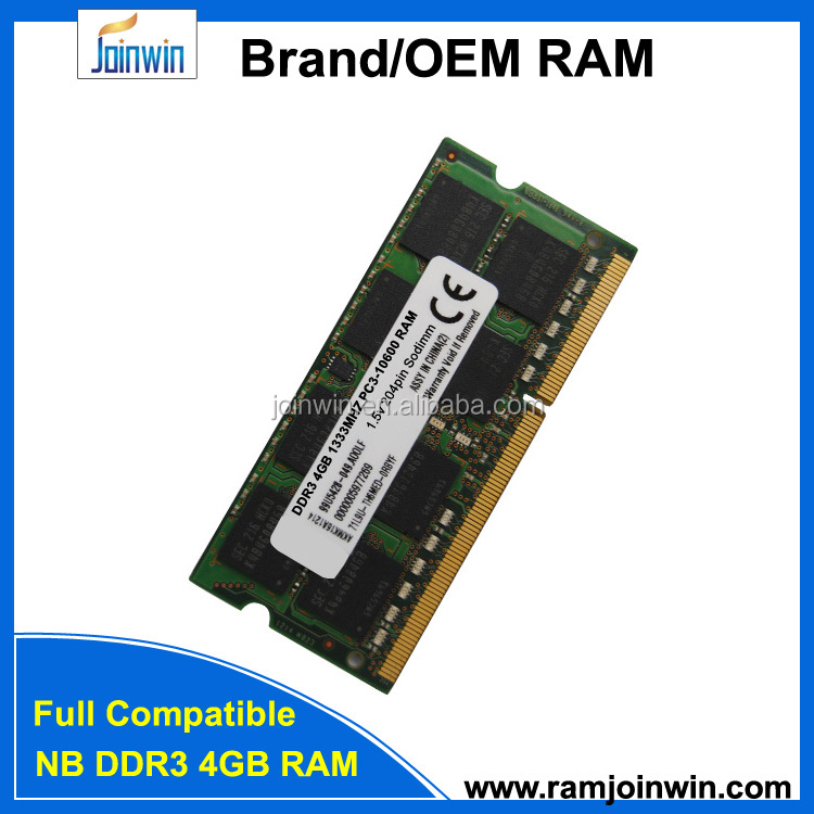 Normal ram ddr3 4gb 1333 laptop