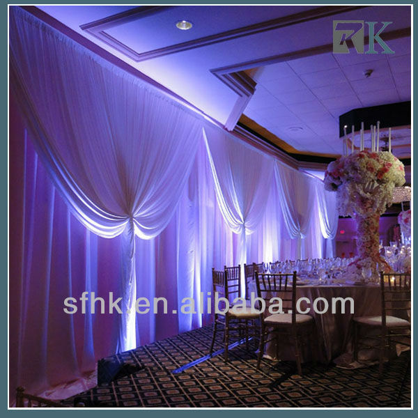 2017 China factory drapery of stage curtain curtain wholesale