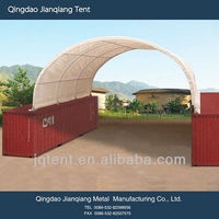JQR2620C steel frame container canopy