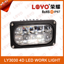 High performance Latest 30w led stand work light anti-glare AUTO parts 12v 24v DC for all