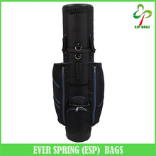 6 Way padded molded devider golf bag, custom made all-in-one design golf travel bag with wheels