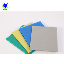 Colorful Wholesale pp corrugated plastic cardboard sheets