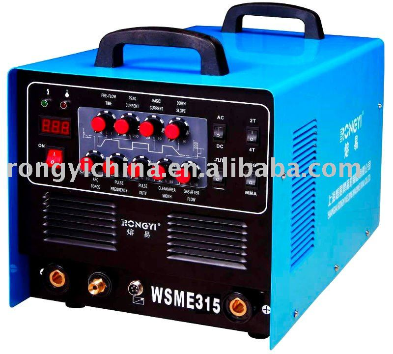 Inverter AC/DC pulse TIG/MMA welding equipment (WSME-315)