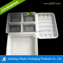 plastic material / designer PP food use food / fruit / biscuit packaging tray