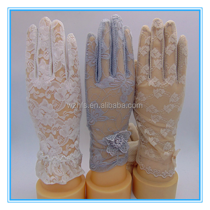 Skin Color Sun Protection Gloves for Outdoor Riding