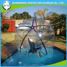 2015 new arriving giant clear pvc/tpu plastic bubble ball