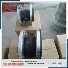 big size flexible pipe coupling flanged rubber expansion joints