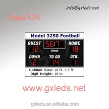 Used scoreboard for soccer football digital scoreboard