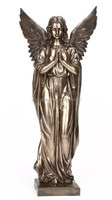 fiberglass bronze finished religious wholesale statues