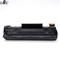 Universal compatible black laser toner cartridge CRG-128/328/728 for Canon and CE278 for HP printer cartridge