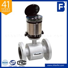 wireless low cost waste water magnetic flow meter