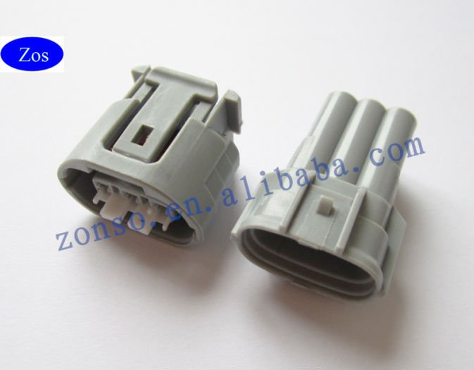 equivalent of Sumitomo TS 3 way sealed auto connectors, used on some Denso alternators