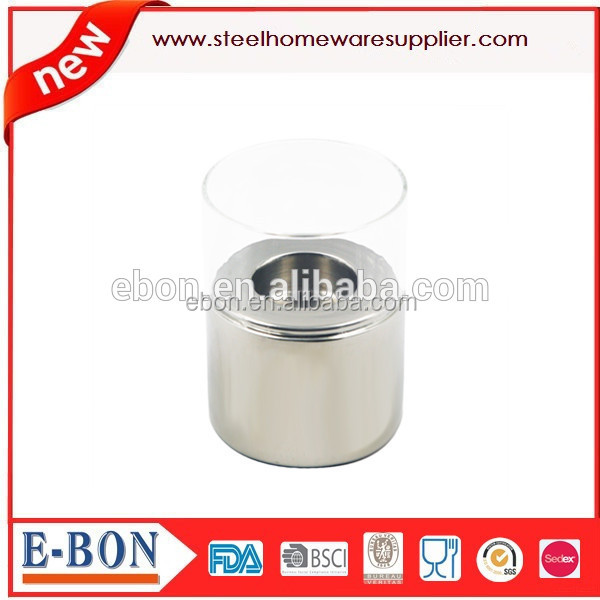 2015 table decoration Stainless steel candle holders