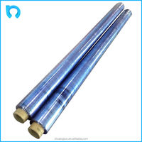 small tube core soft clear shrink plastic roll pvc film