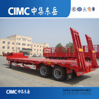 CIMC 2 Axle Lowboy Trailer Heavy