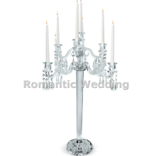 9 arms tall crystal wedding candelabra centerpiece lead road for Wedding decorations event party decorations