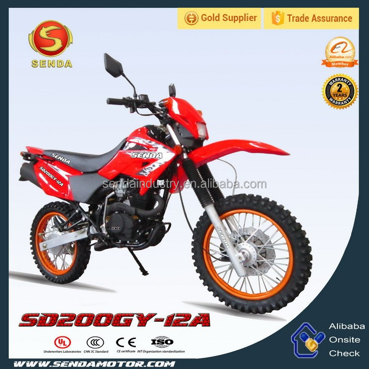 New 200cc Off-road Super Power Motorcycle SD200GY-12A