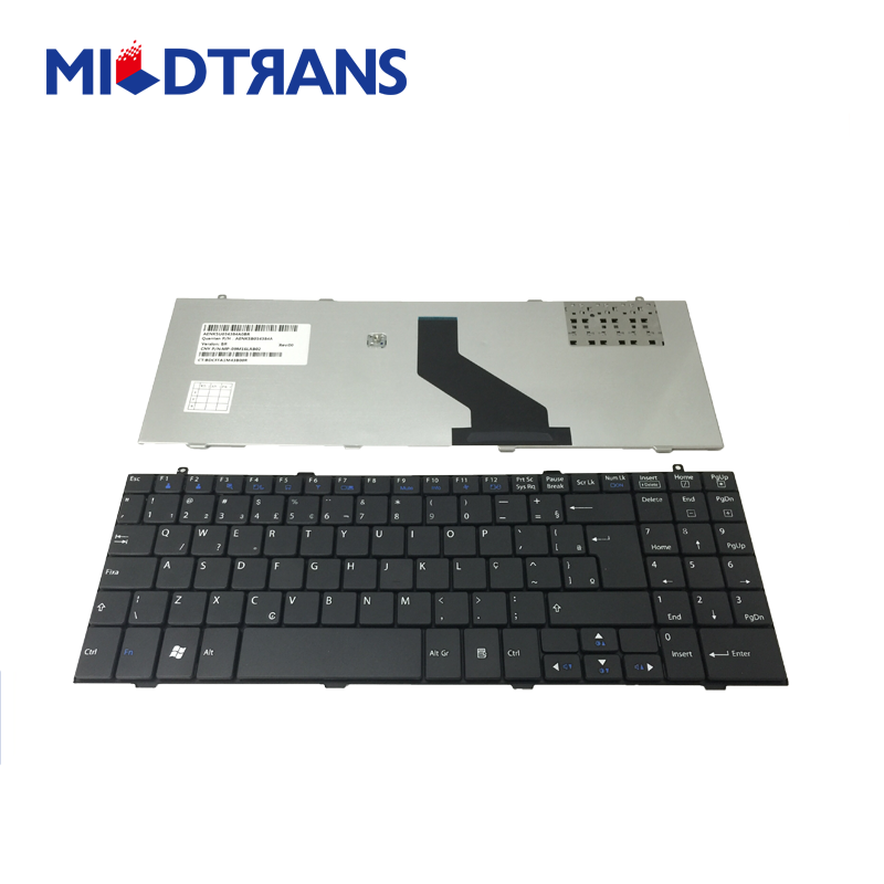 High quality hot sale black notebook keyboard for LG A510 BR