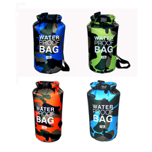 Wholesale Custom Logo 10L Camouflage PVC Waterproof Dry Bag Backpack