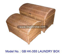 Storage Box, Laundry Box, Rattan Furniture Malaysia, Home Furniture