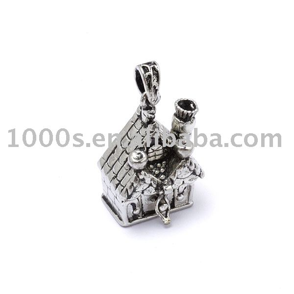 Customised prayer box charm,antique silver charm