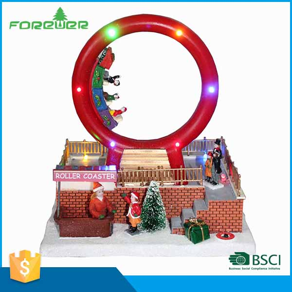 Selected Materials LED Christmas Decoration Lighted Christmas Fence Decoration