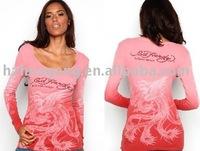 womoen long sleeve blouse,brand shirts,ed hardy t shirts