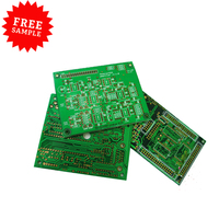 Free Sample Electronic Circuit Board 94v0 Double Layer PCB Prototype PCB Manufacturer