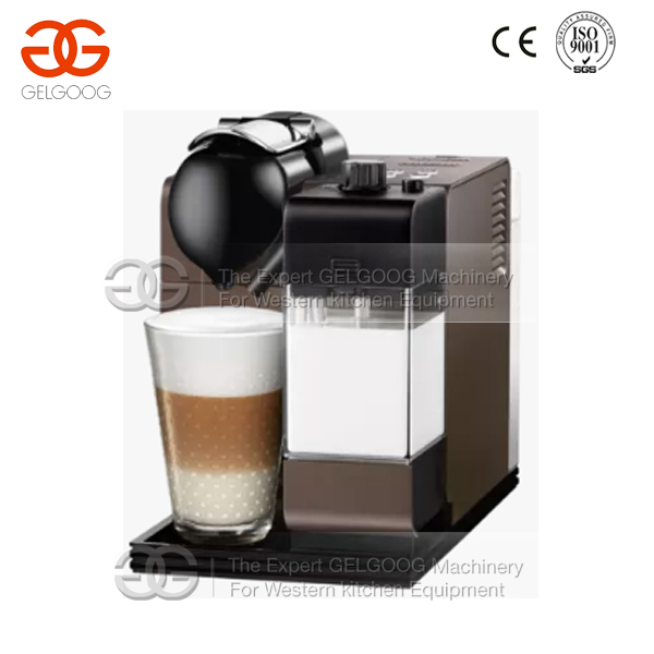 Commercial Hot Sale Espresso/Cappuccino Coffee Making Machine With Milk Tank