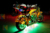10pc Aura LED Motorcycle Light Kit | Multi-Color Accent Glow Neon Strips w/Switch for Cruisers