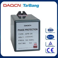 DAQCN Brand APR-3A AC 220V 380V 415V Device Protected Relay Motor Reverse Relay