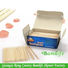 Super quality hot sell bamboo toothpicks mint