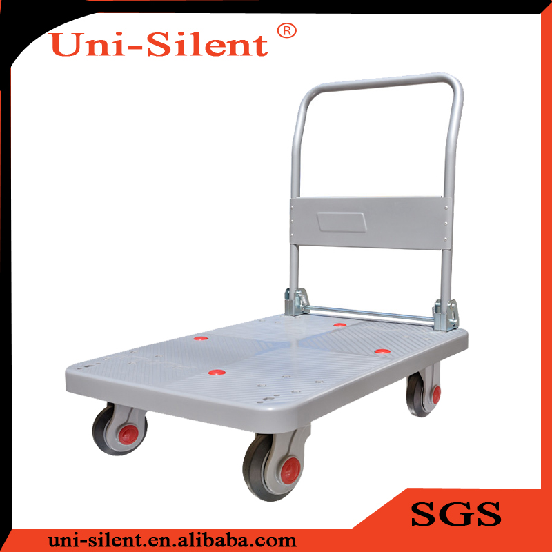 150kg Single Layer Warehouse Foldable Platform Trolley PLA150-DX