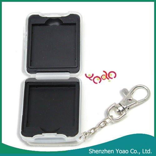 Keychain Case For Nintendo DS Lite Black