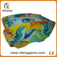 Cheap and high quality 2P Ocean Style kids lottery air hockey